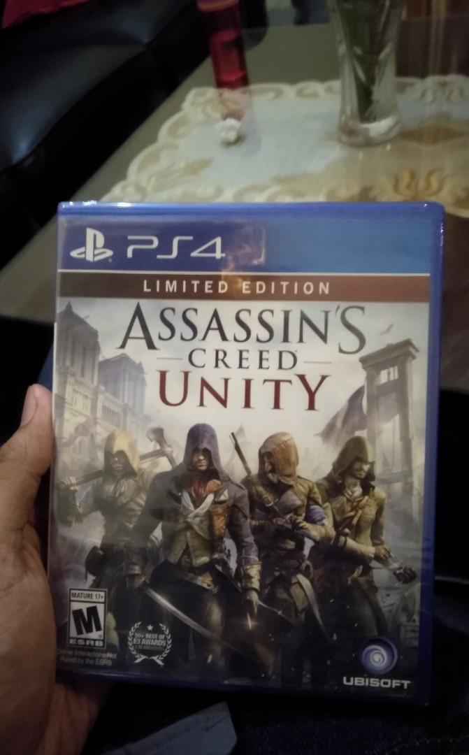 Assassin's Creed Unity PS 4