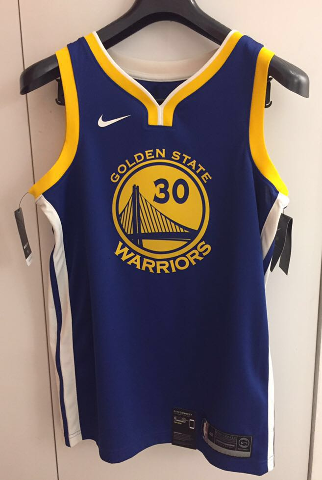 6faedde3828 Authentic Golden State Warriors Swingman Jersey (Stephen Curry 30 ...