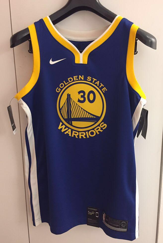 quality design 78c91 f5917 Authentic Golden State Warriors Swingman Jersey (Stephen ...