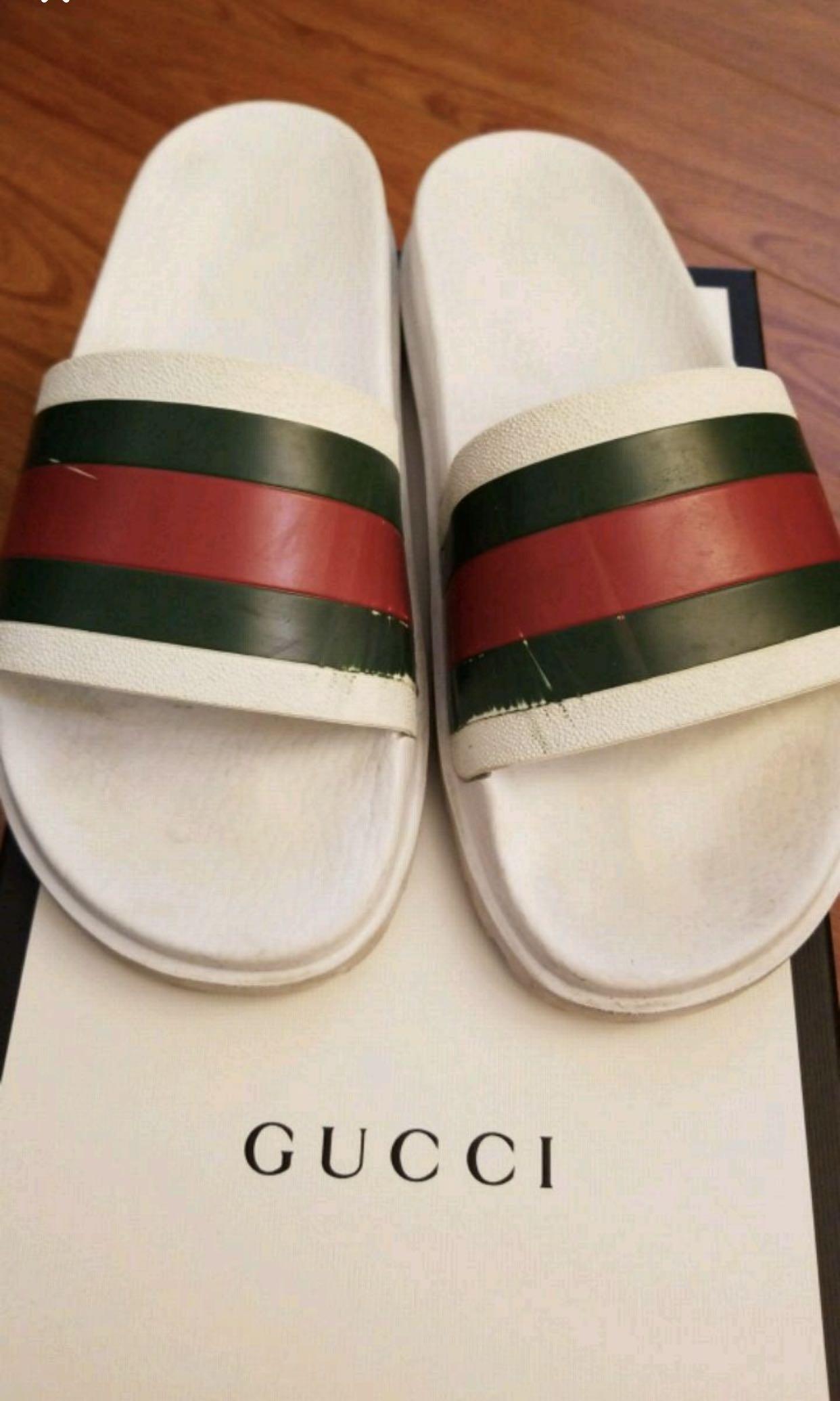 Authentic Gucci slides