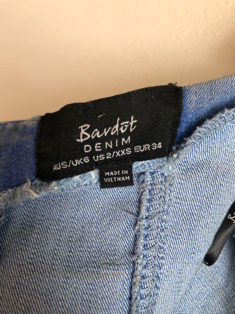 Bardot Denim Mia Dress