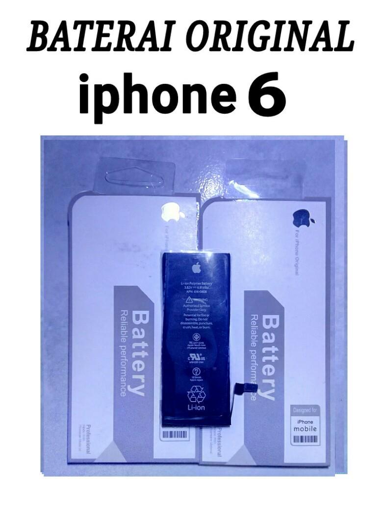 Baterai batrey battery iphone 6 original