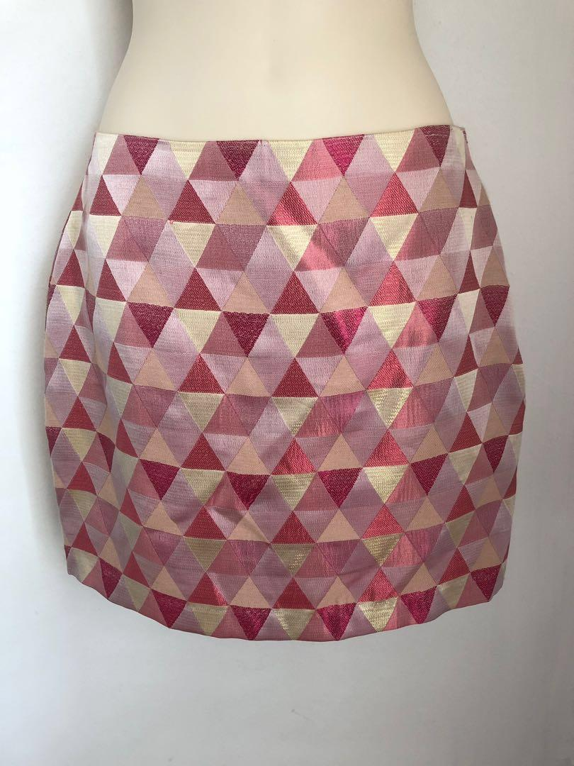 Bec & Bridge designer mini skirt size 8 XS S