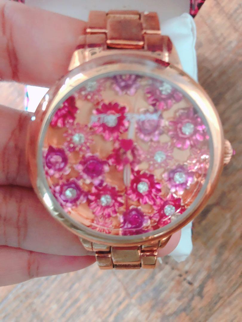 Betsey Johnson Ladies Watch