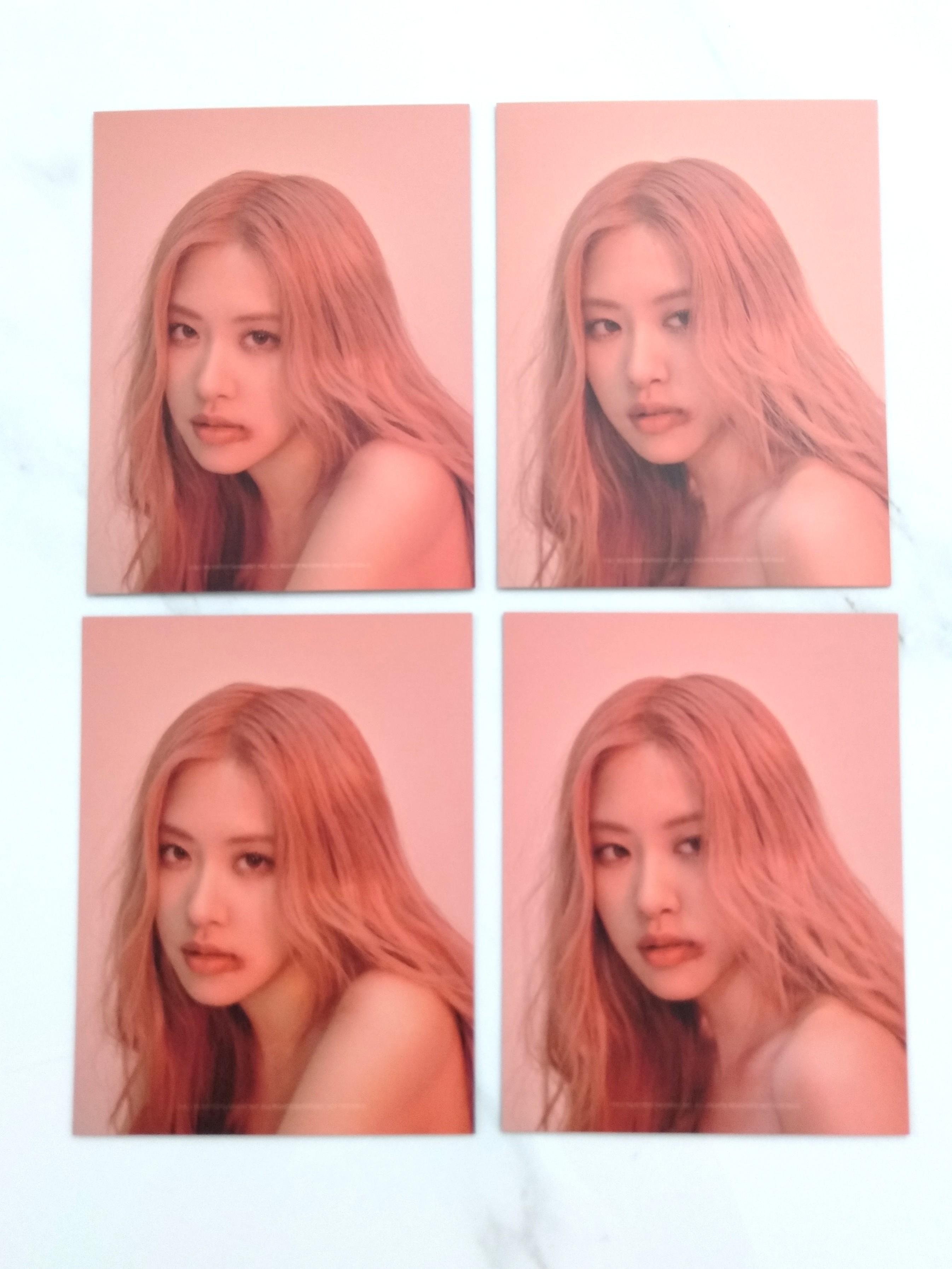blackpink kill this love rose photocard instock 1556436872 910d27b3