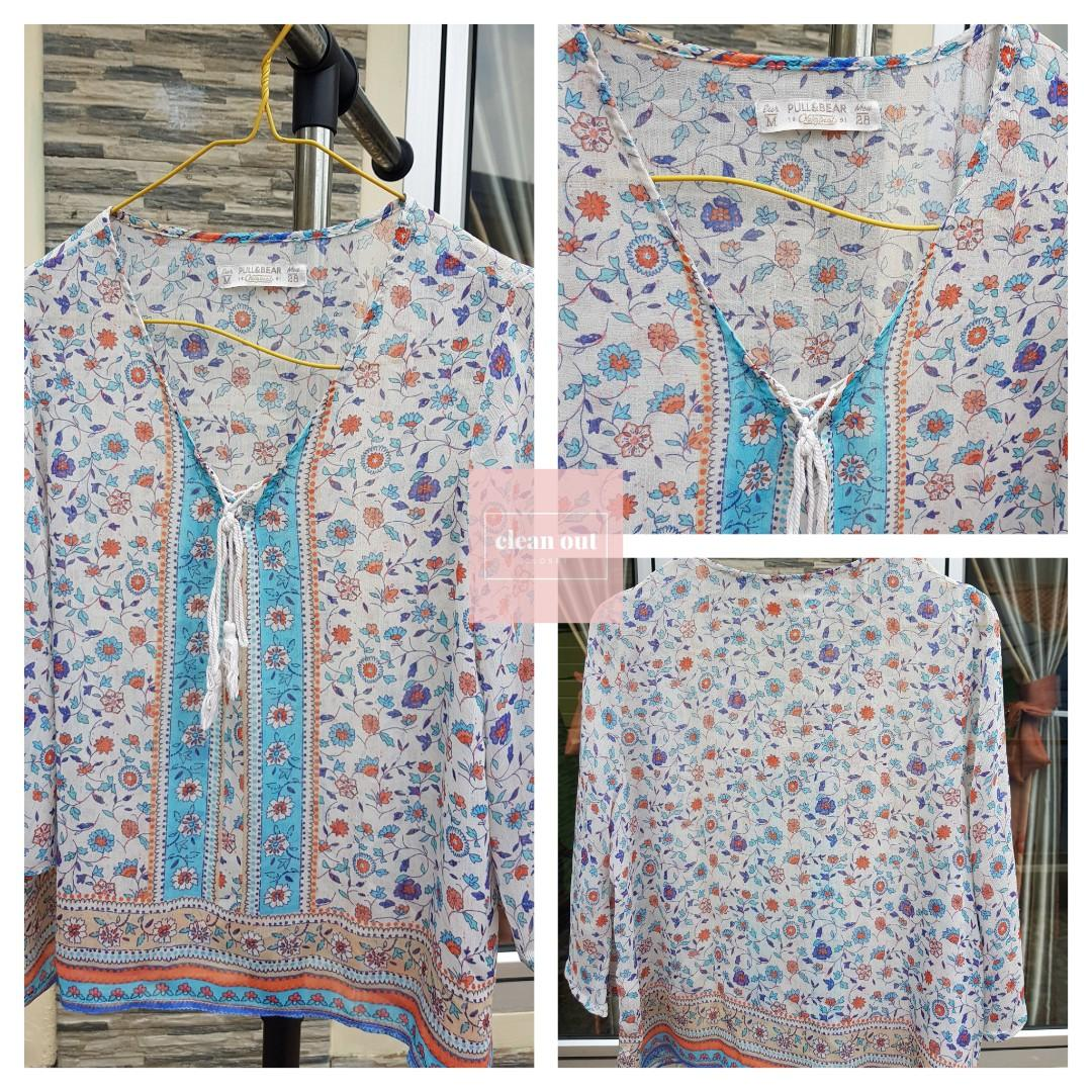 Blouse 3/4 Pull and Bear