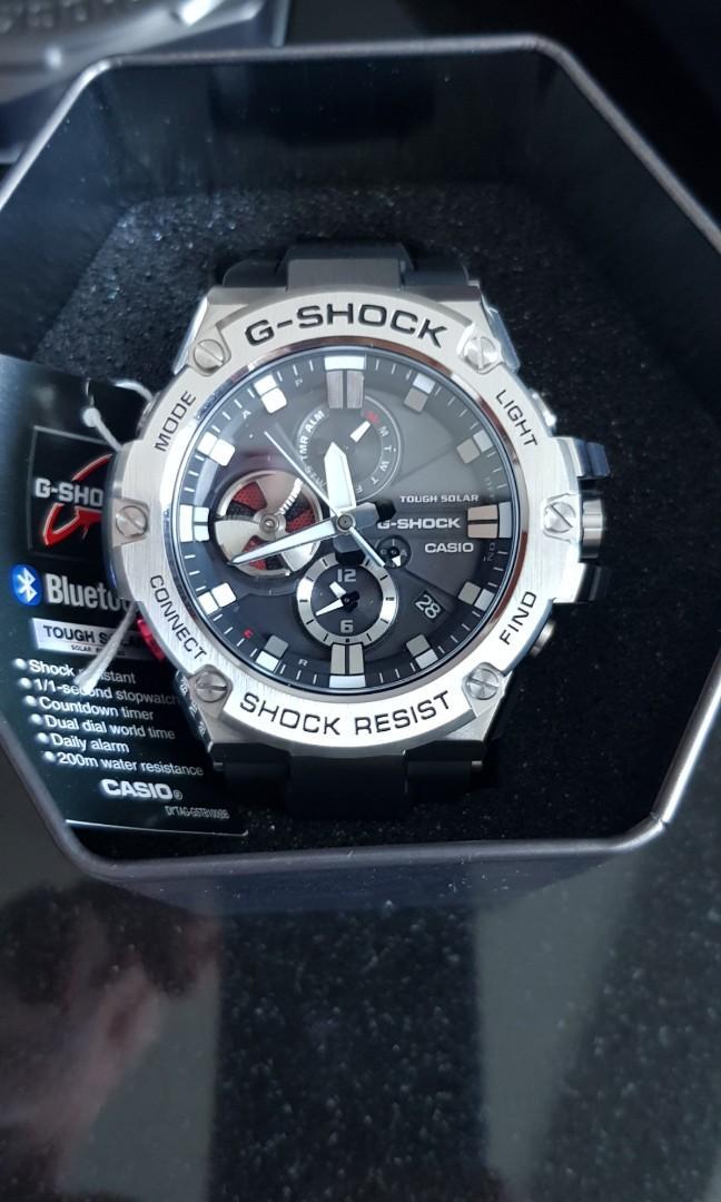BNIB Casio G- Shock G Steel GST-B100-1ADR