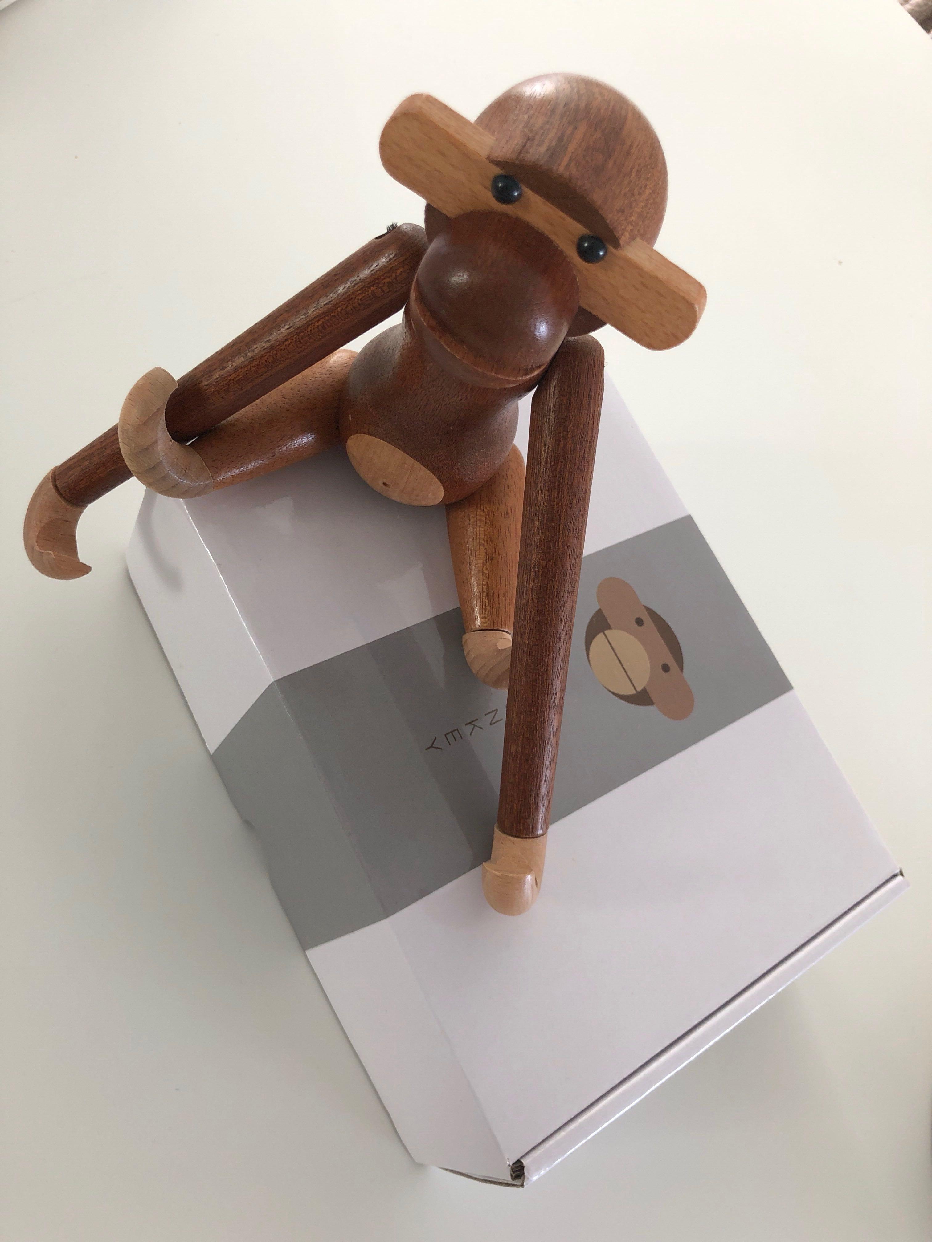 Bnib Kay Bojesen Replica Wooden Monkey Puppet Nordic On Carousell