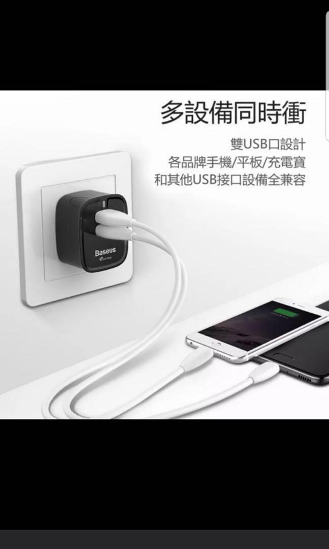 Brand new Baseus QC 3.0A charger