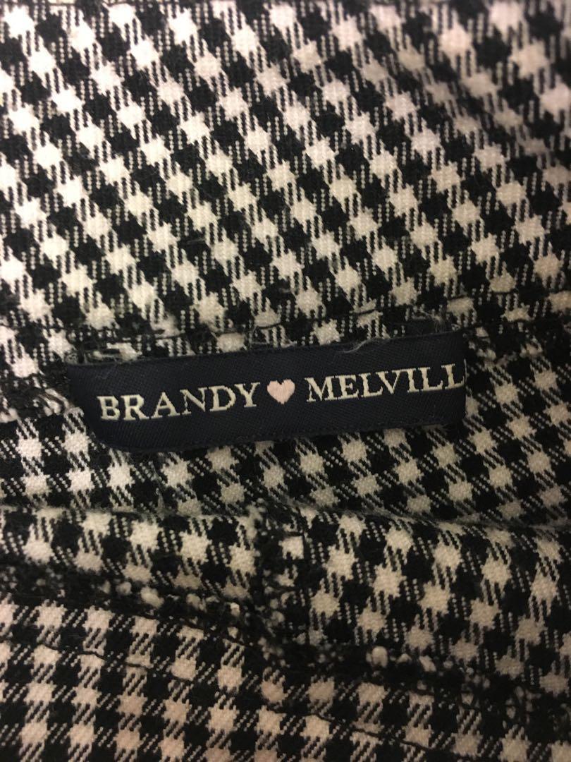 Brandy Melville Plaid Shorts