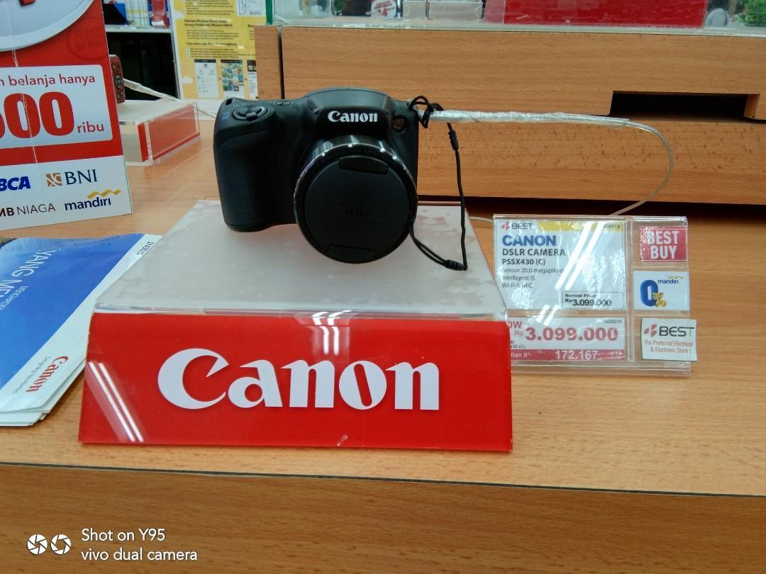 Canon DSLR Camera cukup bayar 199.000 bawa pulang barang