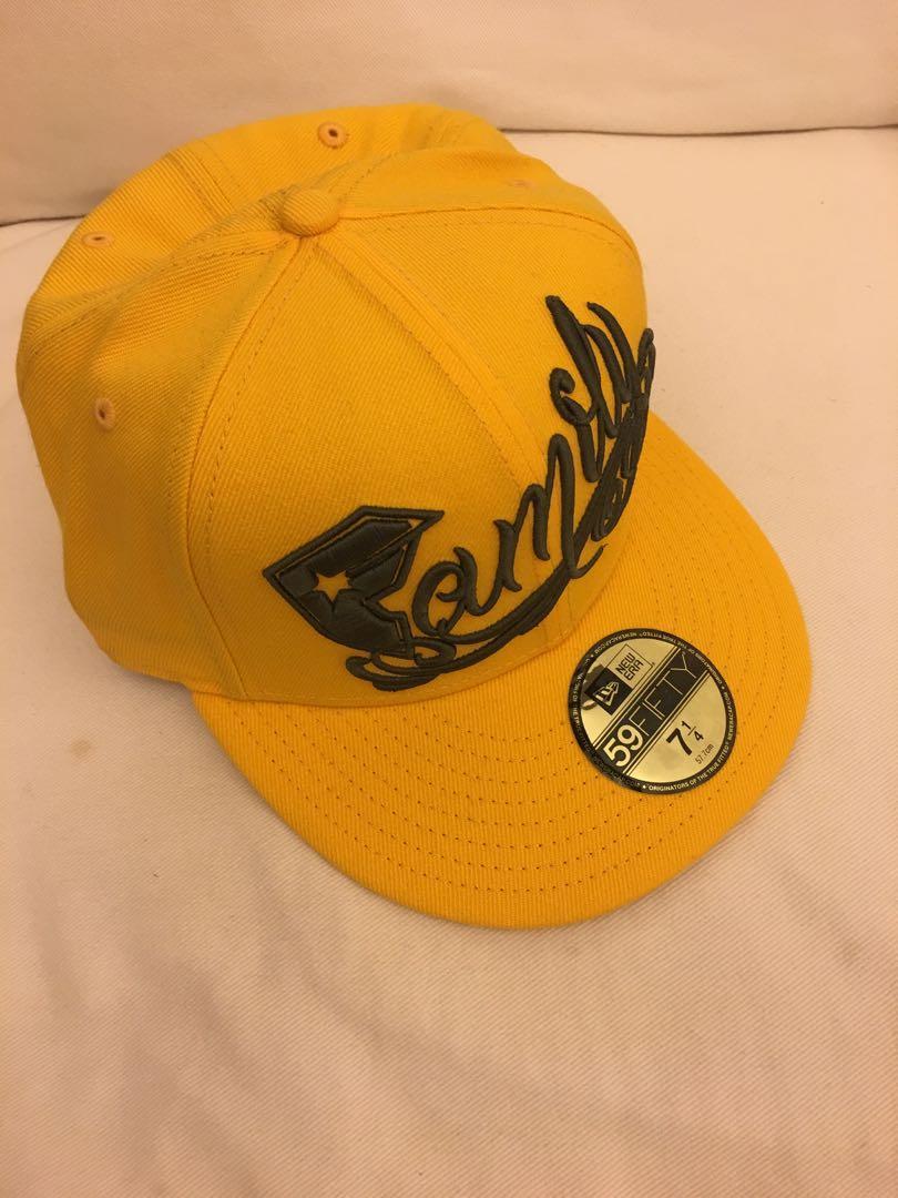 Cap帽 - Yellow New Era 59Fifty