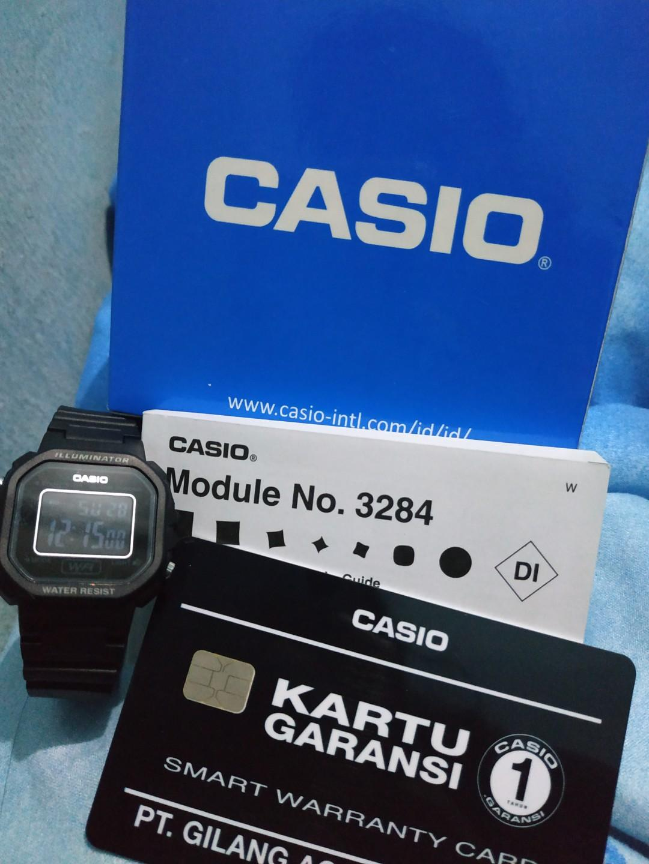 Casio Watch illuminator water resist
