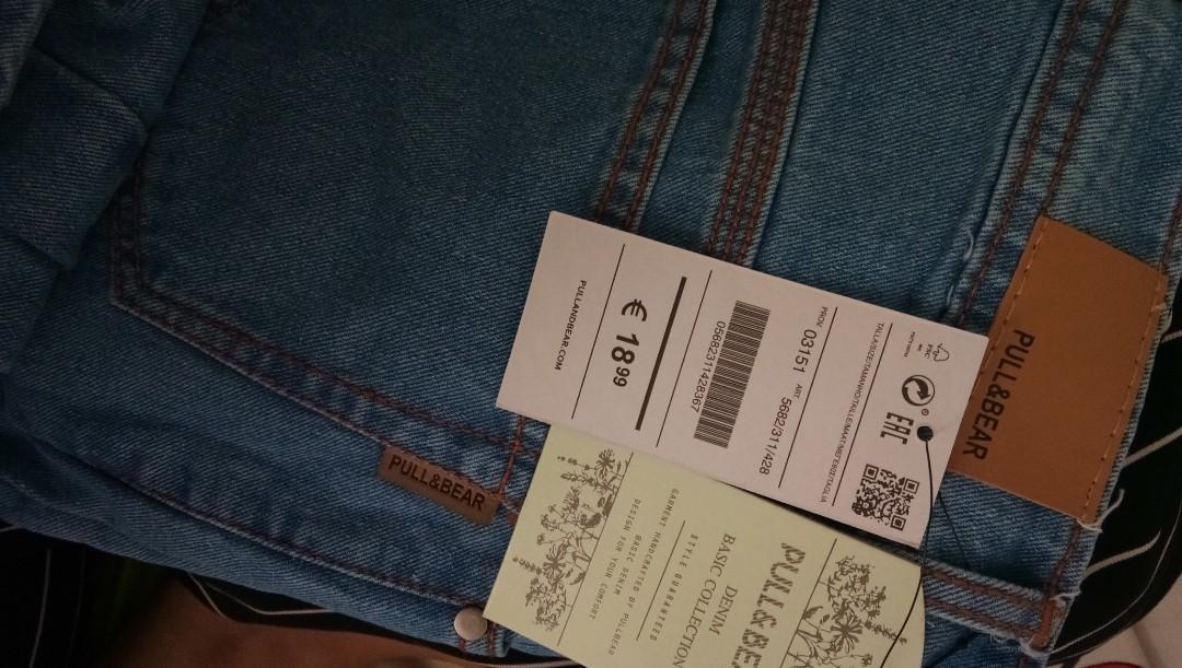 Celana boyfriend jeans PULL N BEAR