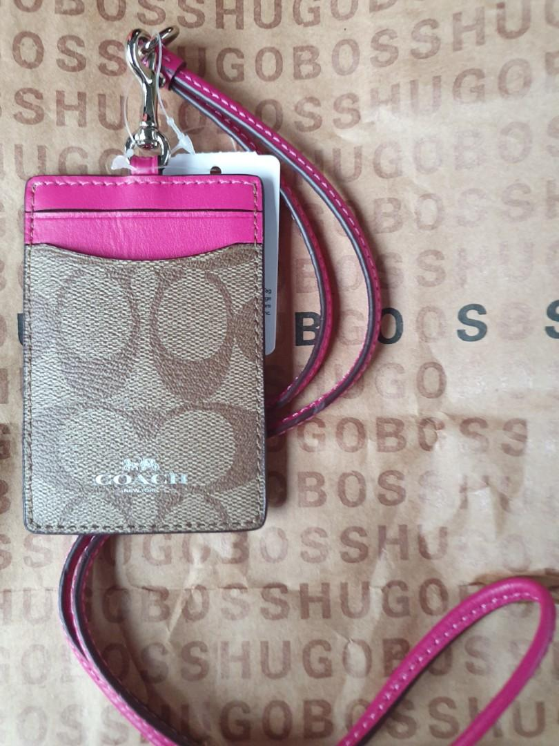 Coach ID Lanyard (Price reduced)