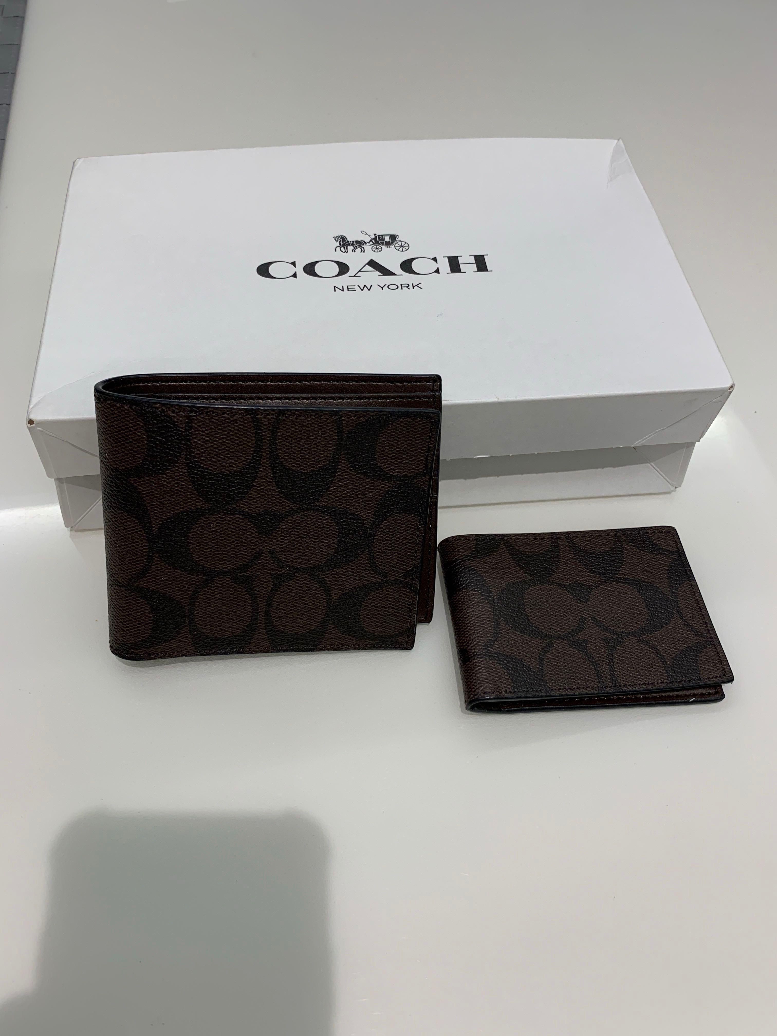 0905ff80b0 Coach Men's Wallet, Men's Fashion, Bags & Wallets, Wallets on Carousell