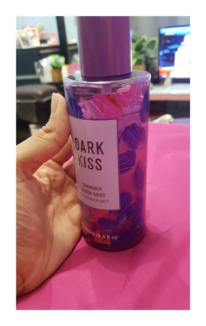 #BAPAU Dark kiss shimmer body mist