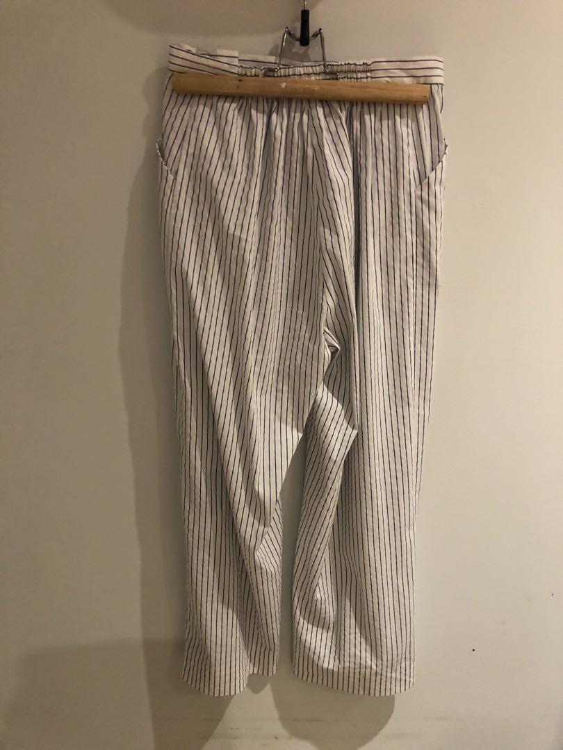 Dion Lee Stripe Cotton Pants
