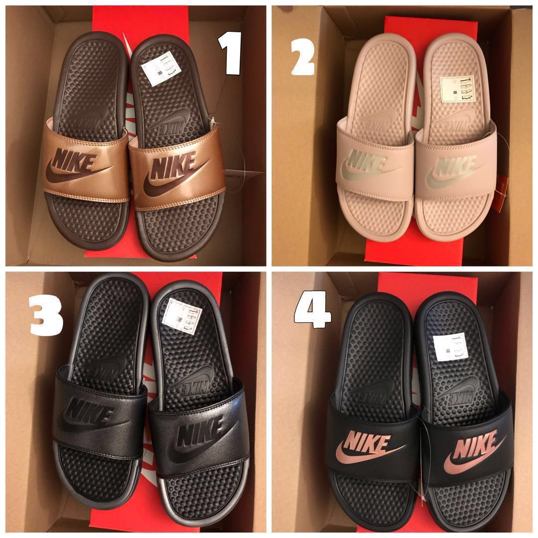 bd37276ab170 EU 38 39 Nike Benassi Slides exclusive designs women