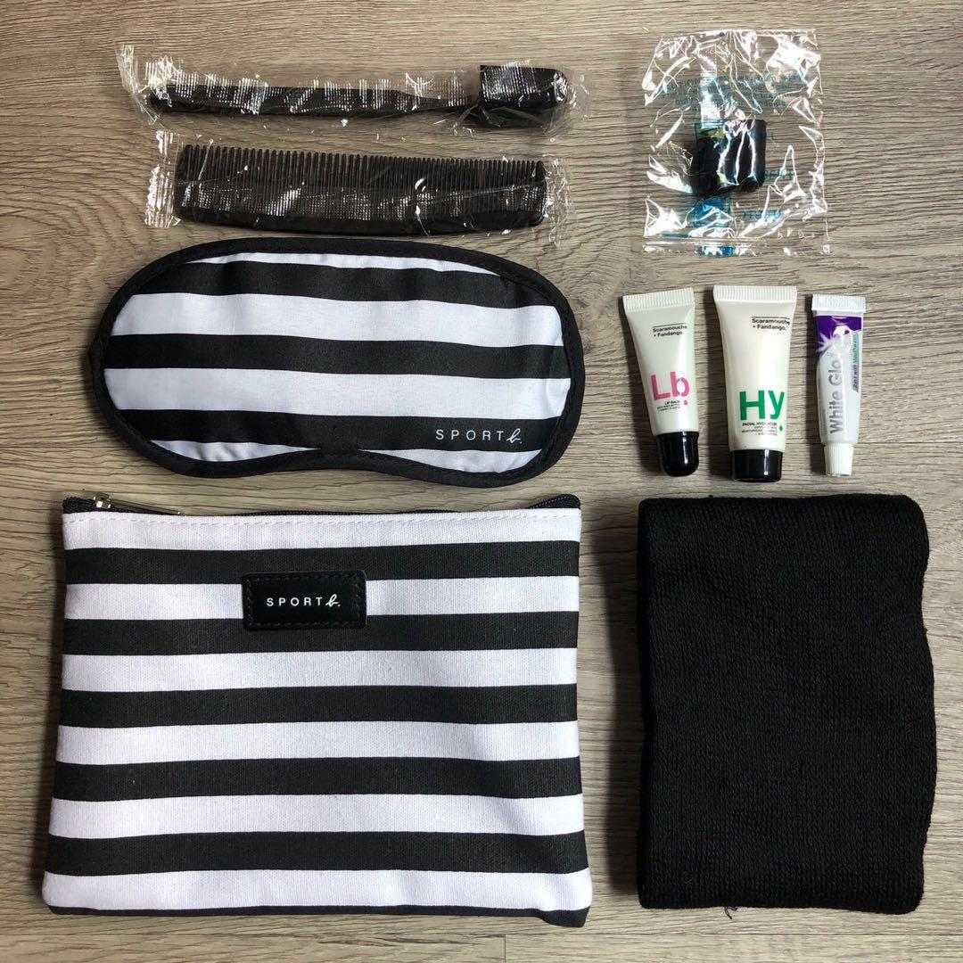 Eva Air Agnès B. Sport B. Amenity Kit