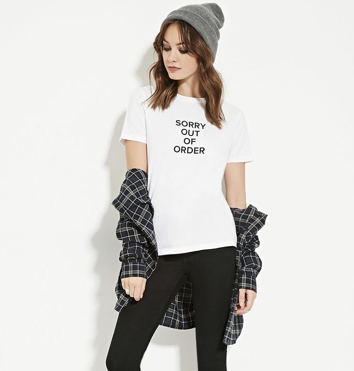 a5123c03 Forever 21 Graphic Tee, Women's Fashion, Clothes, Tops on Carousell