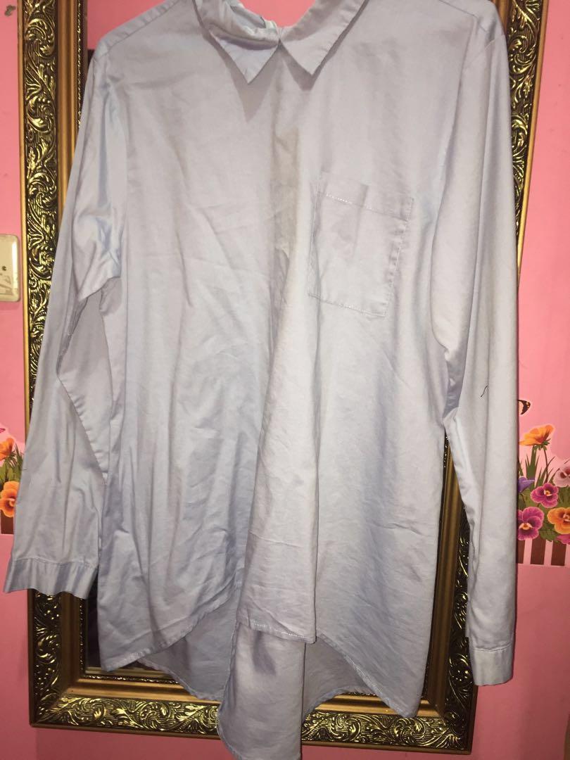 Gaudi Baju atasan blouse Blue