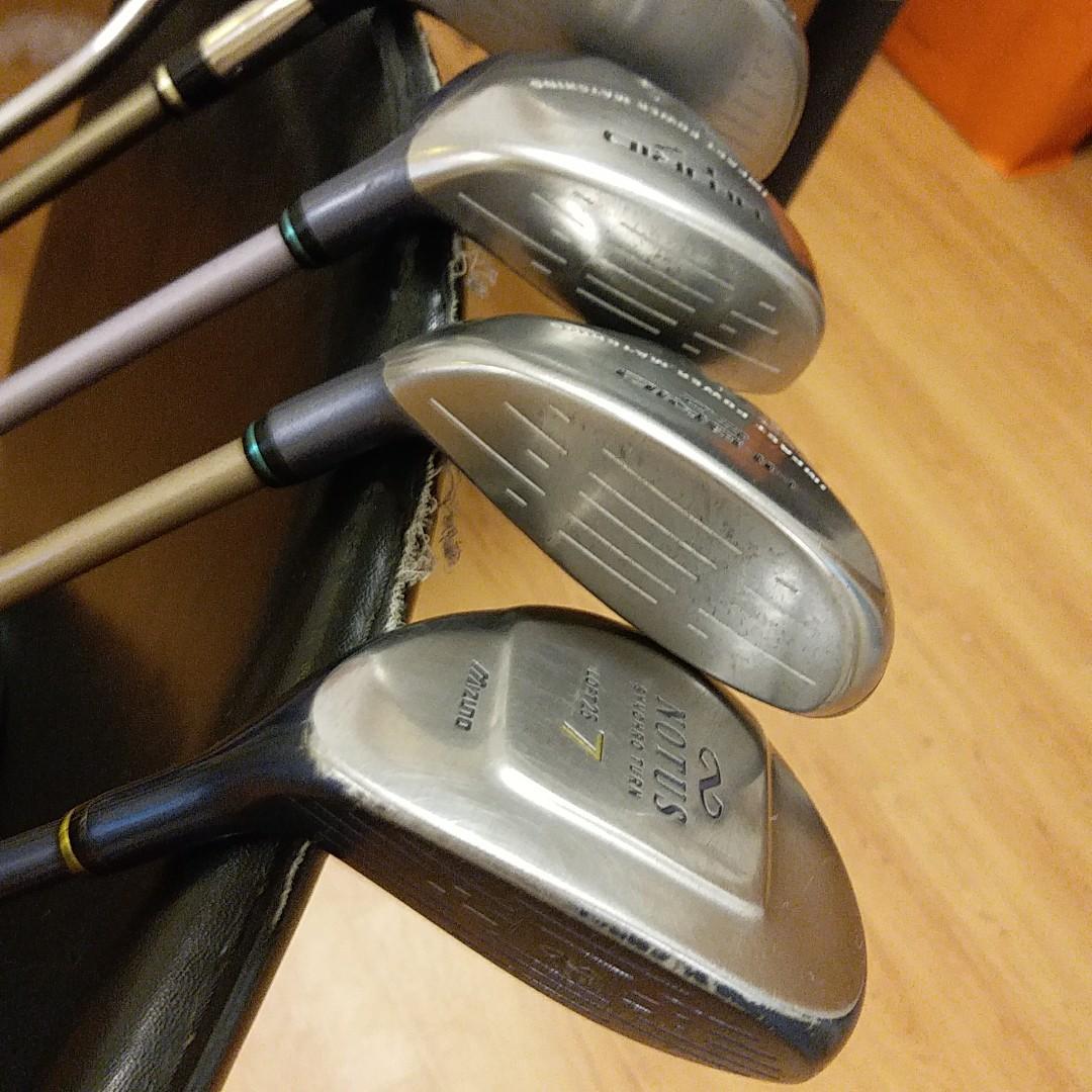 Golf set driver, fairway woods  putter for ladies beginner
