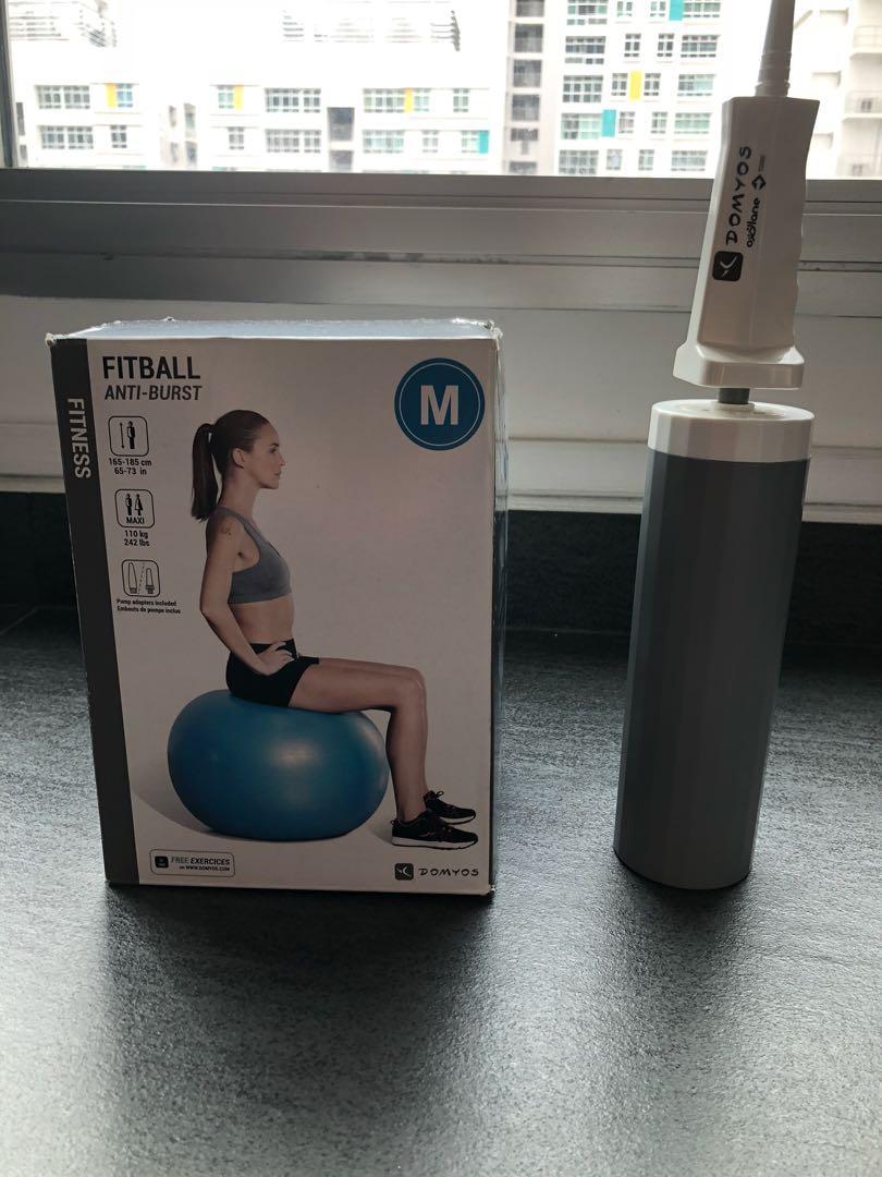 Gym Ball + hand pump