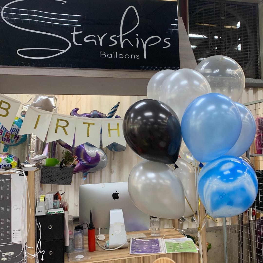 Helium Balloons (Bundle of 10)