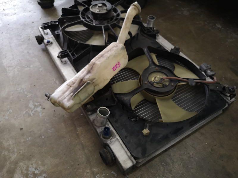 Honda Civic EP3 Feel's Aluminium Radiator