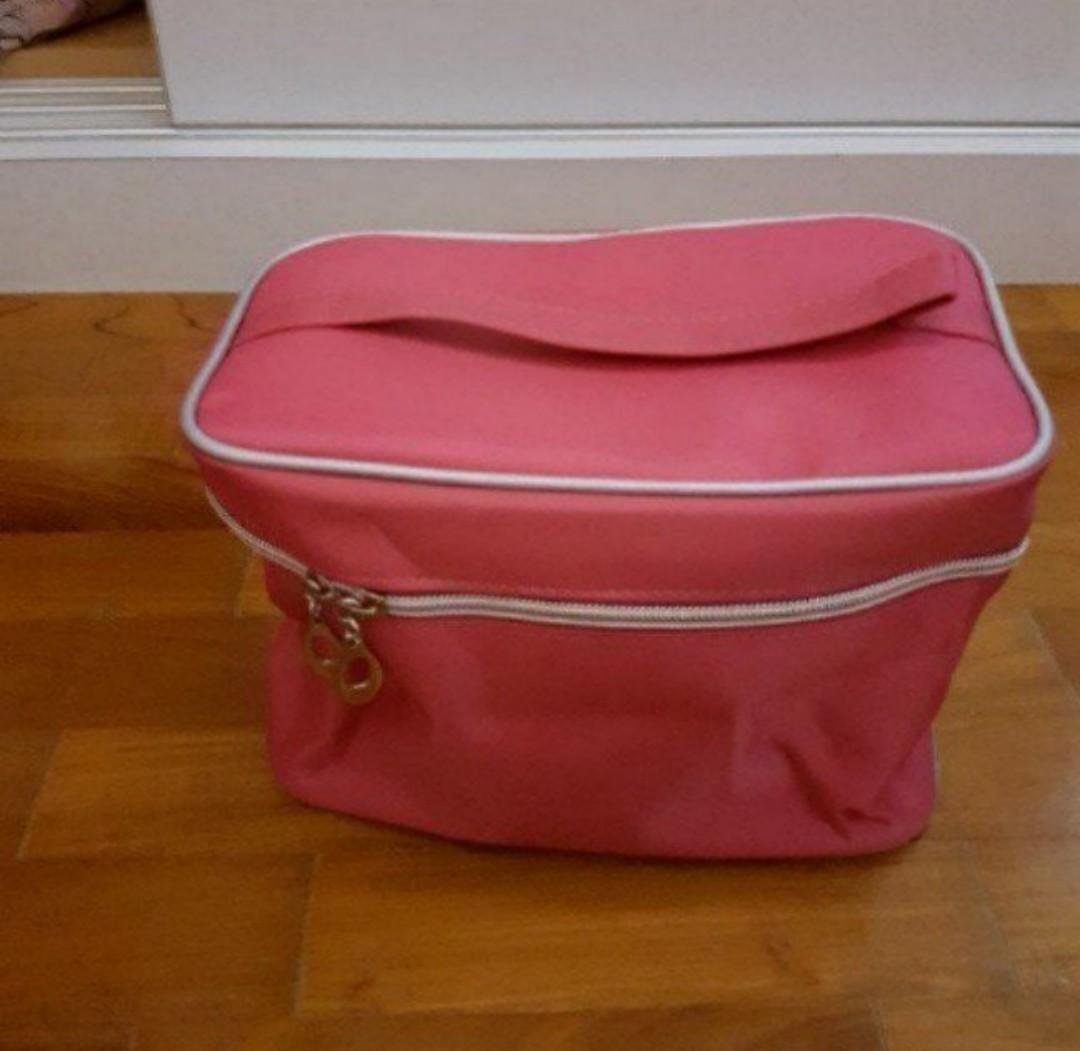 Hot Pink Make up Pouch/Bag