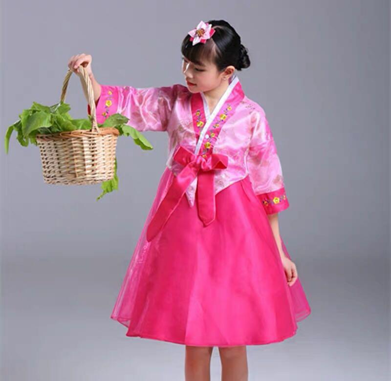 🌟INSTOCK🌟Korean Hanbok Racial Harmony Day Celebration Korean dress Korean Girl costume