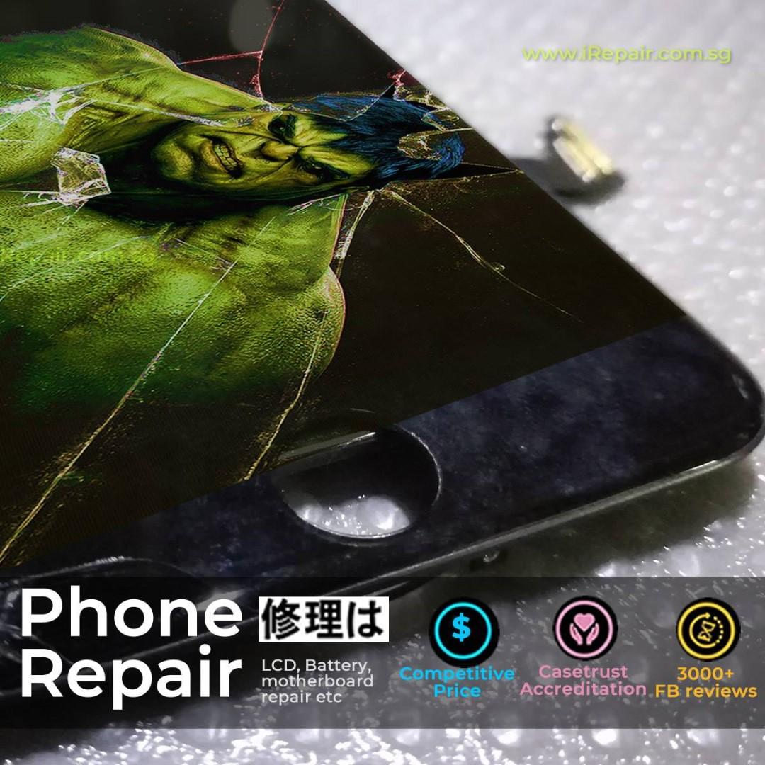 iPhone,Samsung Screen Repair(iPhone X,8,7,6 S9,S8,Note9/8)