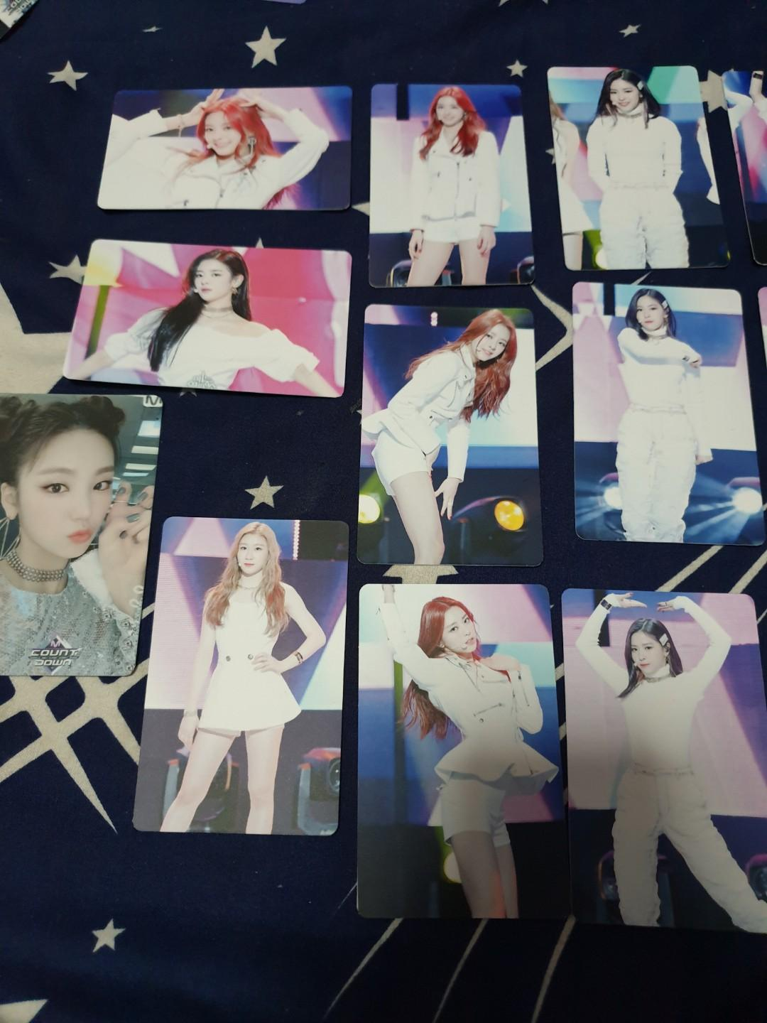 Izzy unofficial photo cards
