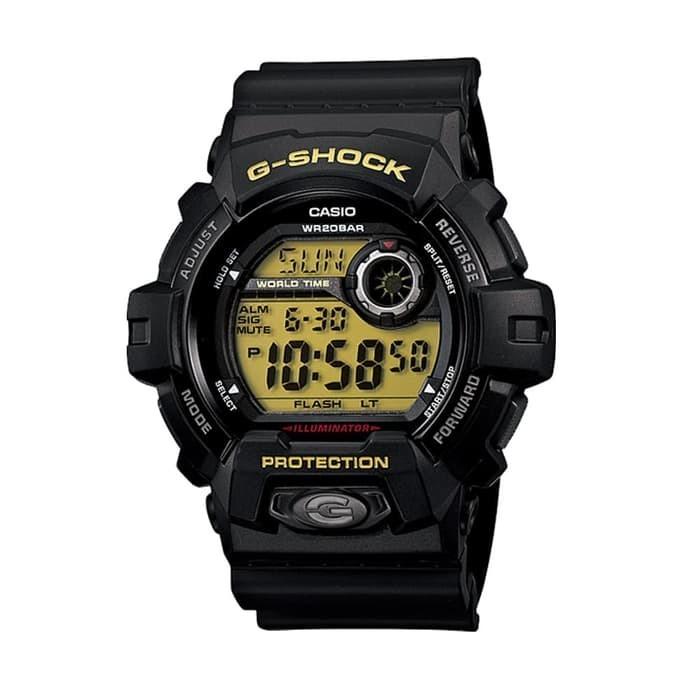 Jam Tangan Pria Casio G-SHOCK G-8900-1DR Black Hitam Original Murah