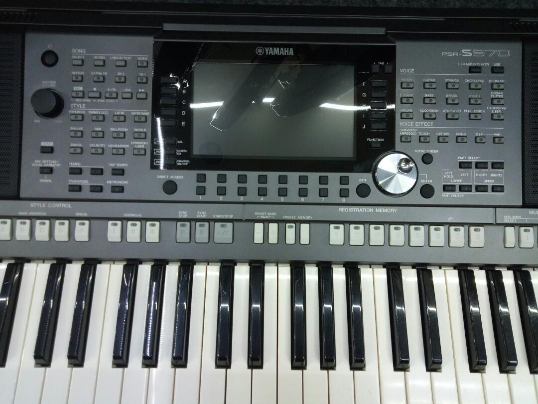 Keyboard Yamaha PSR-S970 Cicilan Tanpa Kartu Kredit