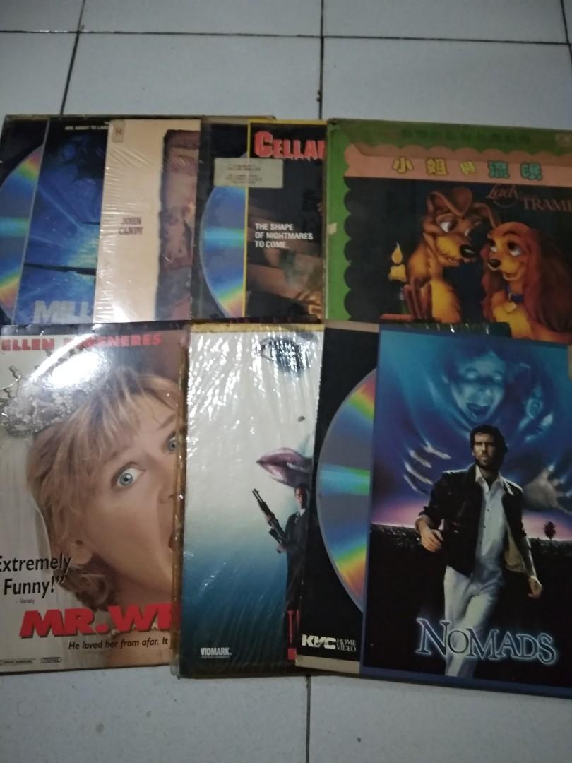 Laser Disc Movie #turunharga