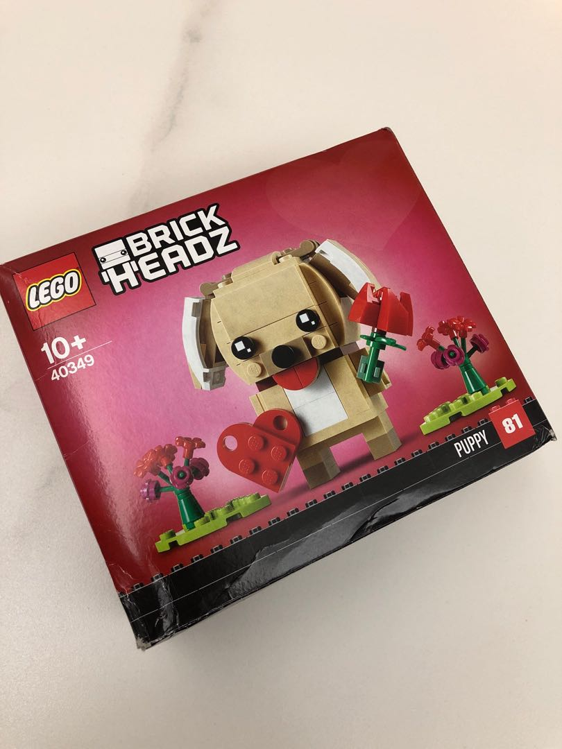 LEGO 40349 BRICK HEADZ PUPPY 少殘盒