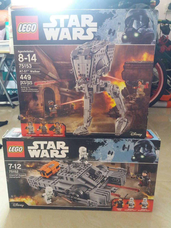 Lego 75152+75153