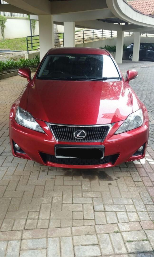 Lexus is250 very well kept