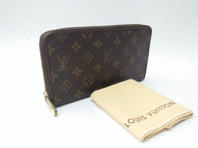 LV Travel Zippy Wallet Monogram with dustbag
