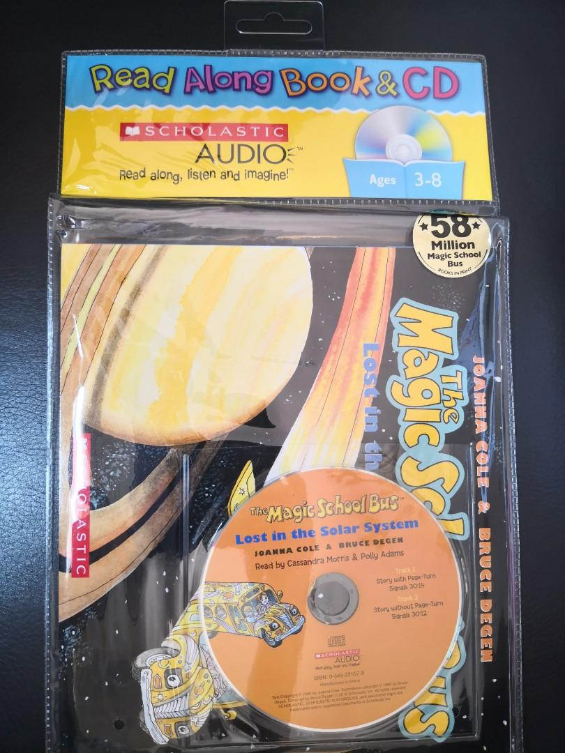 Magic School Bus - Lost in the Solar System, Book and CD