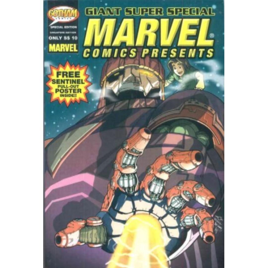 Mini-size comics Sentinel