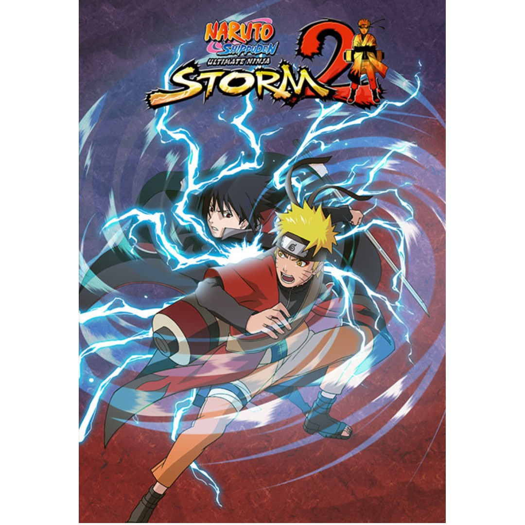 NARUTO SHIPPUDEN: Ultimate Ninja STORM 2 Offline with DVD - PC Games