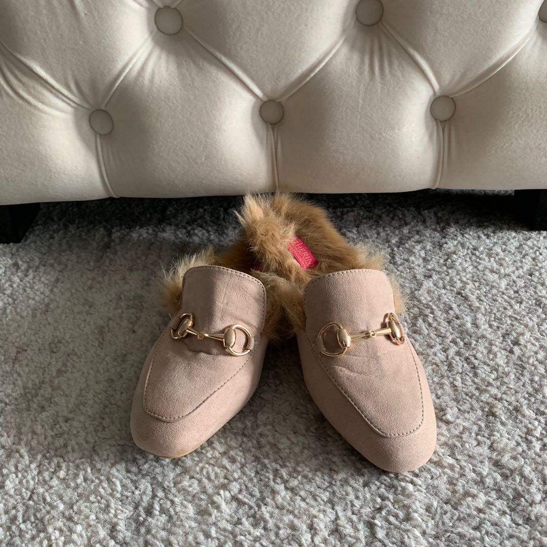 NEW! Catherine Malandrino - Slip-on Loafers Mules Slides