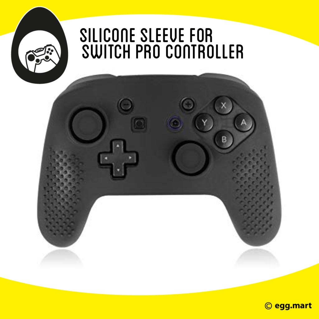 Nintendo switch pro controller silicone sleeve free thumbgrips