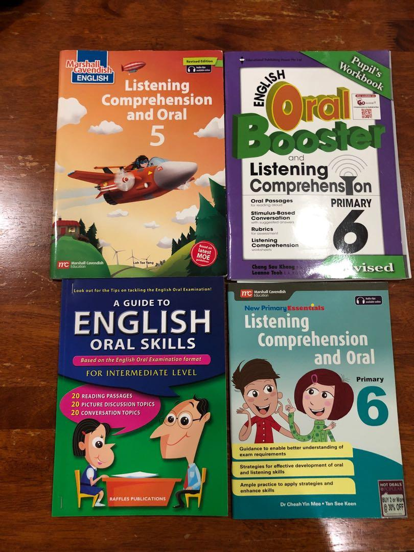 P5/6 listening comprehension and oral
