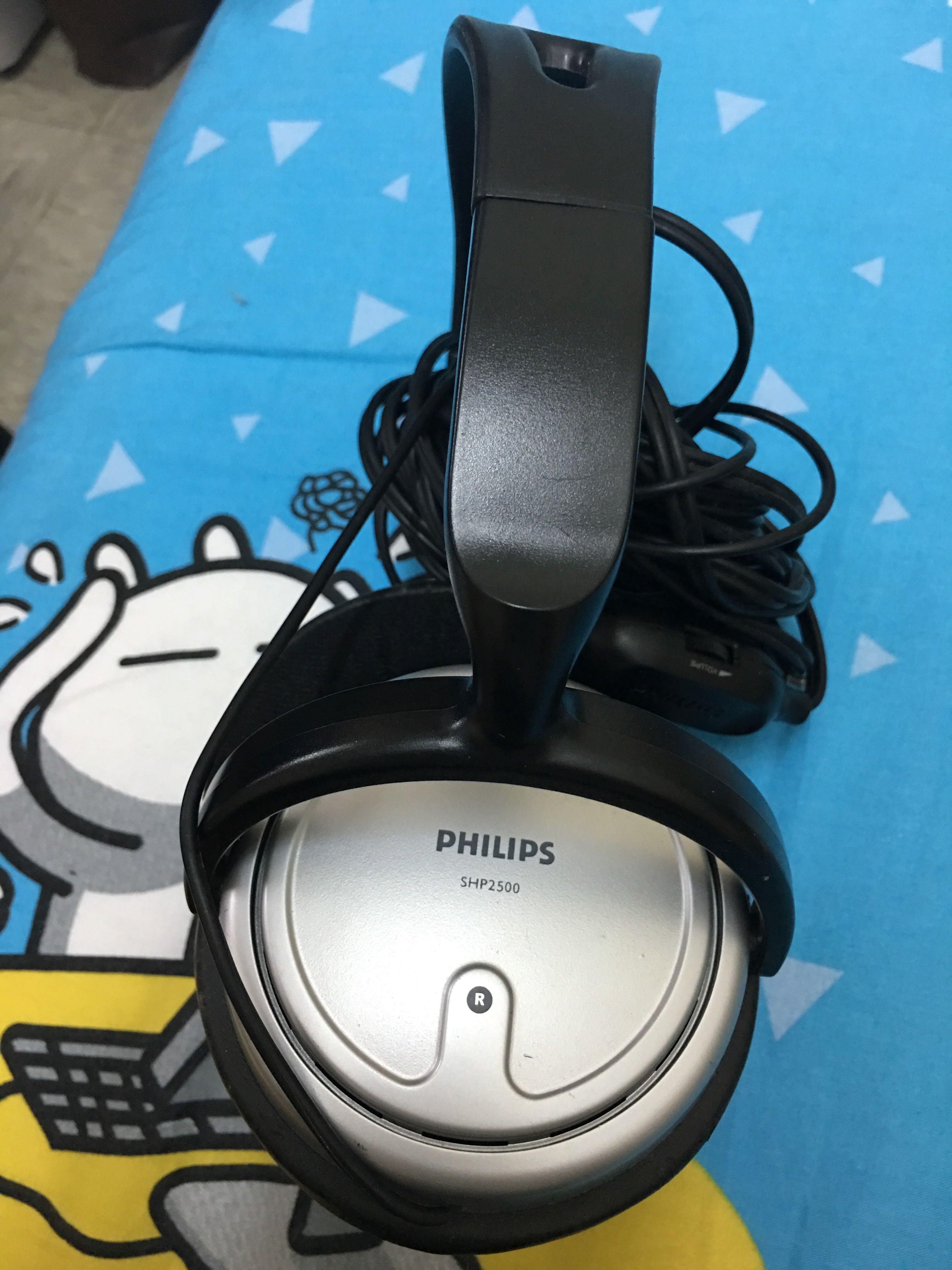 philips headphone  耳筒 model shp2500