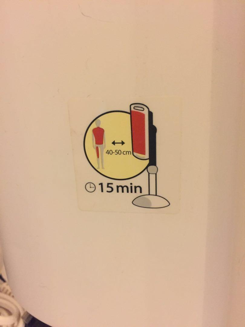 Philips InfraCare 650 Watt                 #EndgameYourExcess