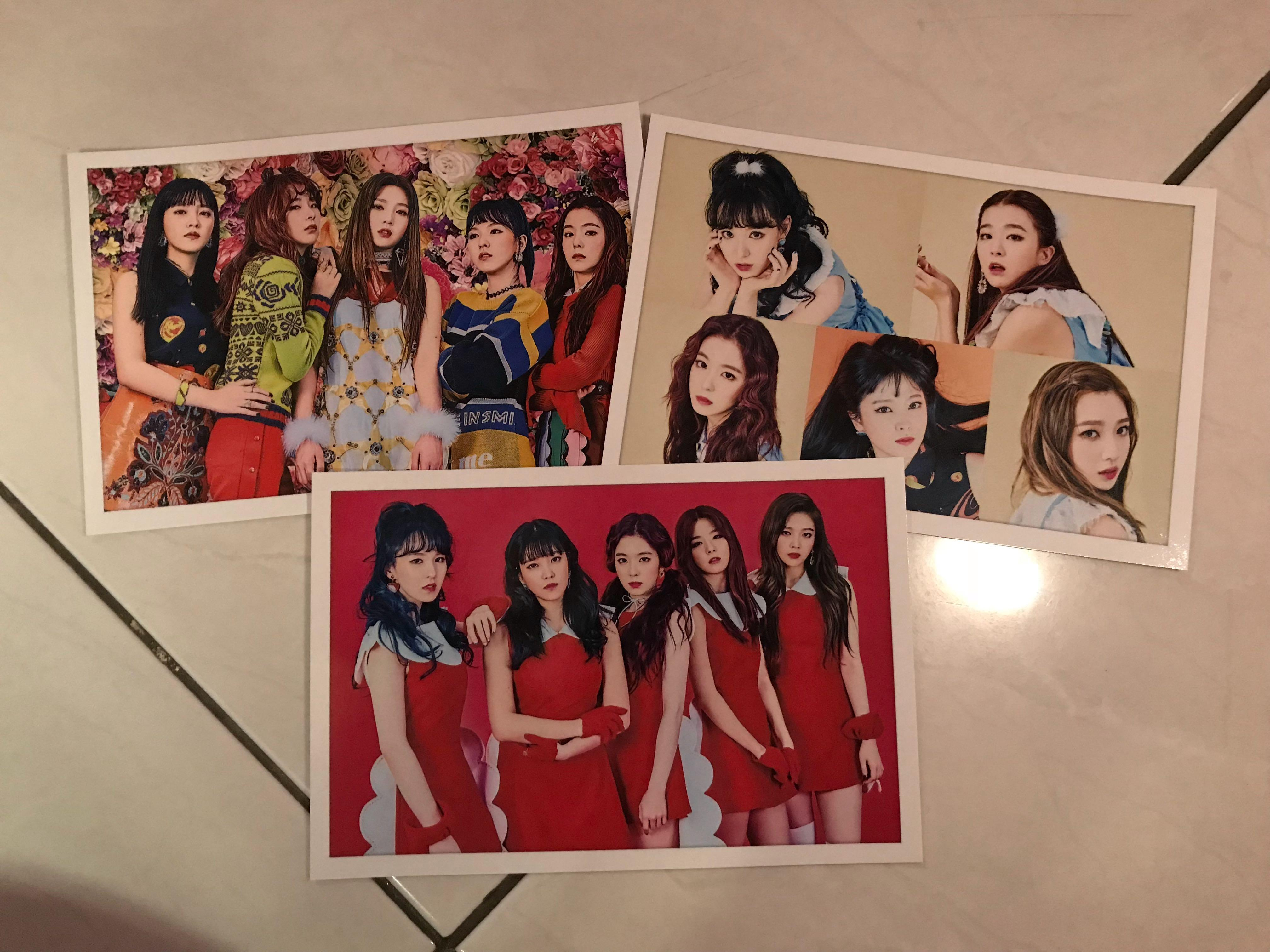 Post Card RED VELVET
